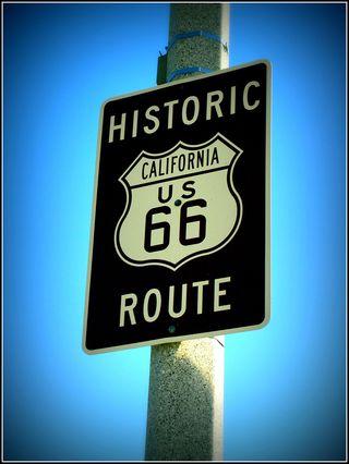 Route 66   Photograph by Derek E. Baird