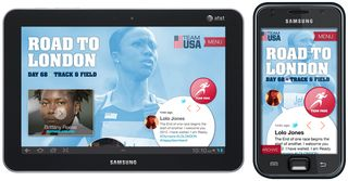 London olympic app