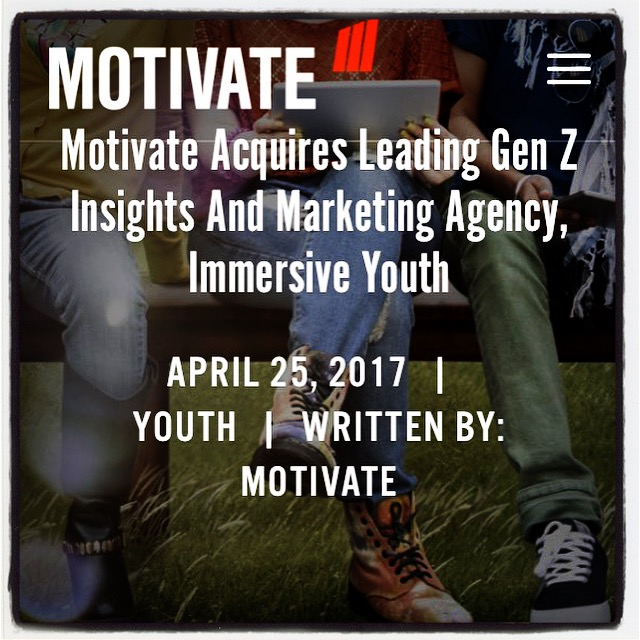 Immersive youth joins motivate